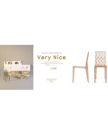 """François Azambourg - Chaise """"Very Nice"""" (modèle réduit)"""