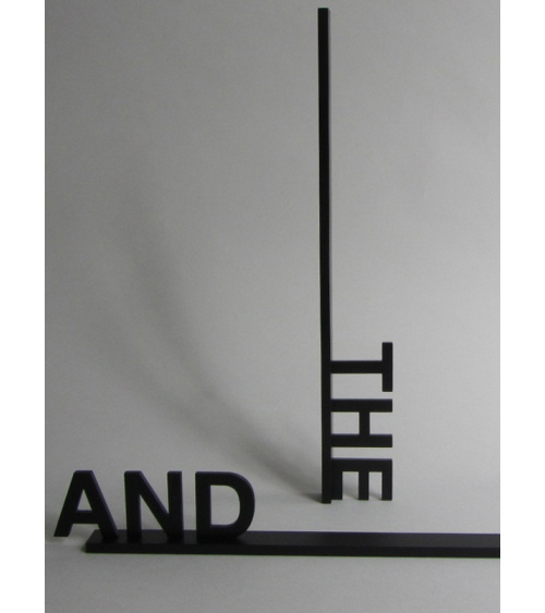 Peter Downsbrough - THE, AND, THEN