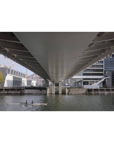 Marc Barani - Un pont à Billancourt