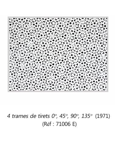 François Morellet - Estampe originale (1971)