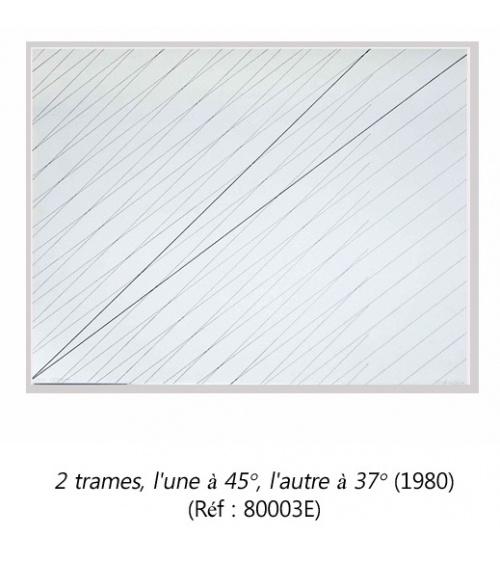 François Morellet - Estampes originales (1980)