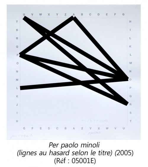 François Morellet - Estampe originale (2005)