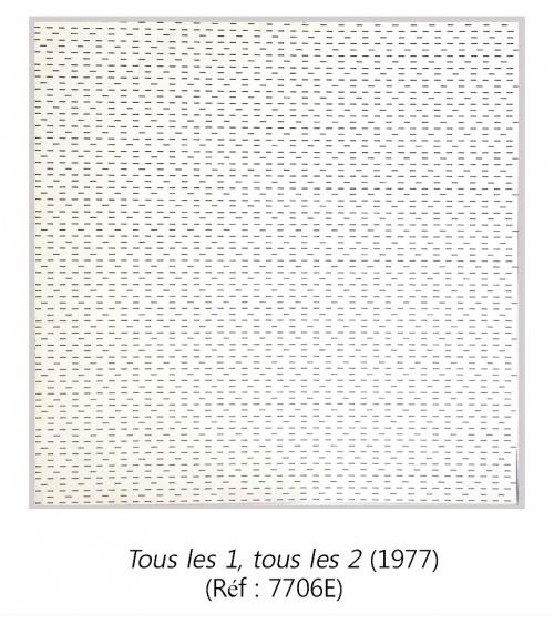 François Morellet - Estampes originales (1977)
