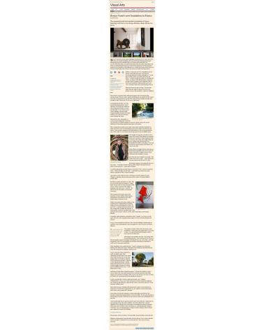 Bernar Venet - Financial Times (01.07.14)