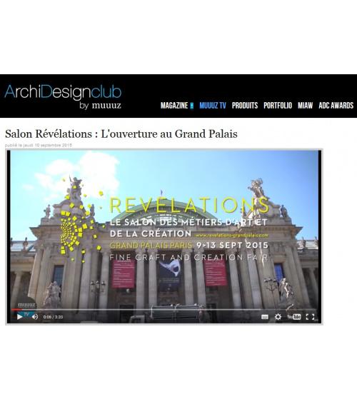 Salon Révélations : L'ouverture au Grand Palais