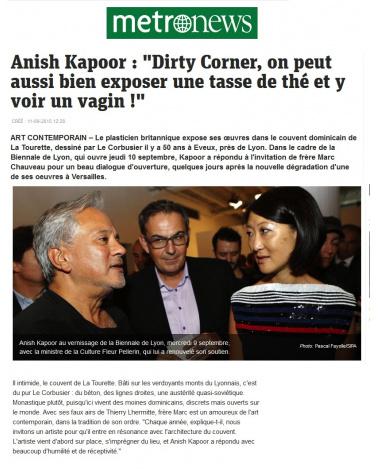 Metronews - Anisk Kapoor