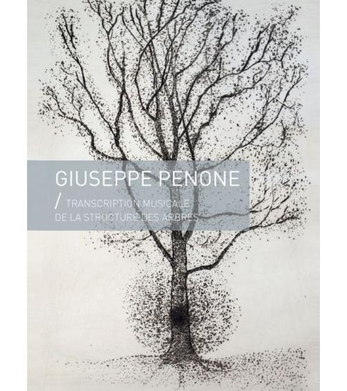 Giuseppe Penone - Transcription musicale de la structure des arbres  (gravures)