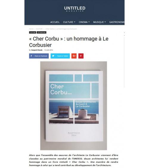 « Cher Corbu » : un hommage à Le Corbusier