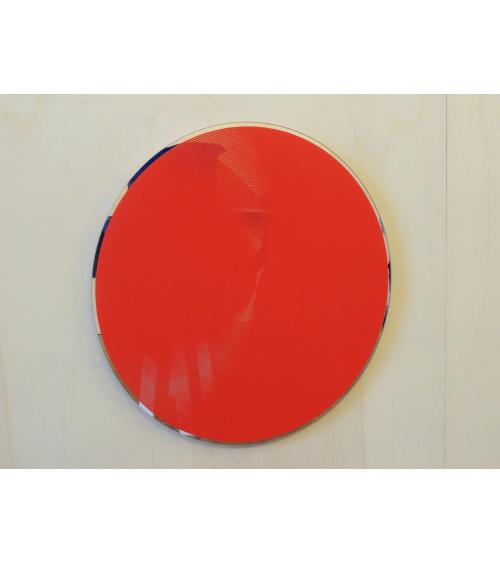 Miroir Blower - Rouge / Laure Manhes