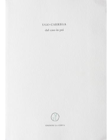 Ugo Carrega - Dal caso in poi, poesie verbo visuali