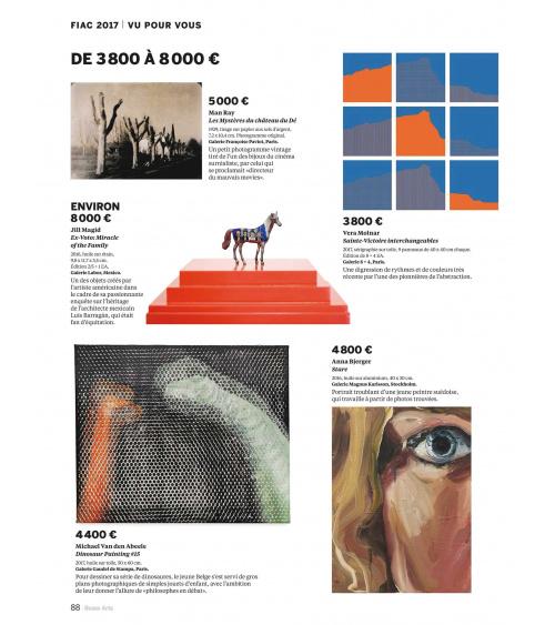 Vera Molnar dans Beaux-Arts Magazine n.401