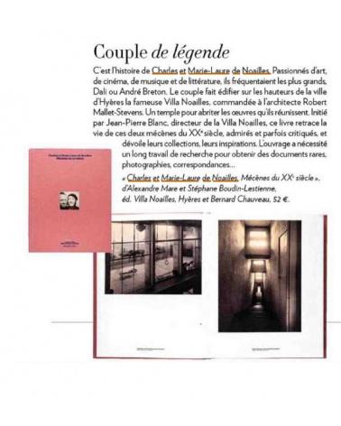 Charles et Marie-Laure de Noailles - Paris Match