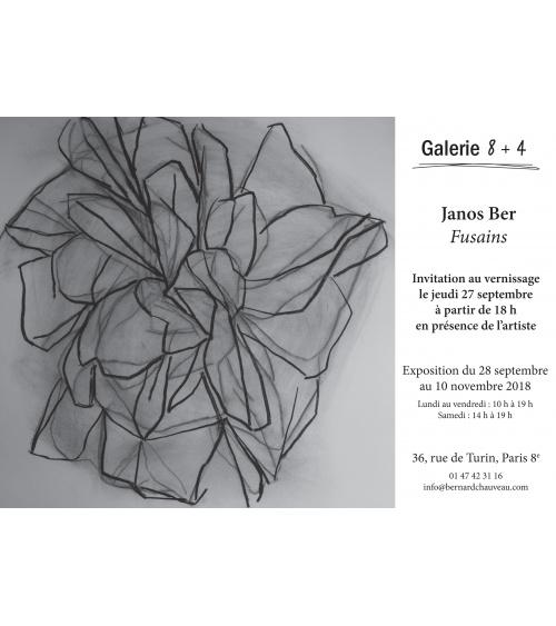 Janos Ber  / Fusains - du 28/09 au 10/11