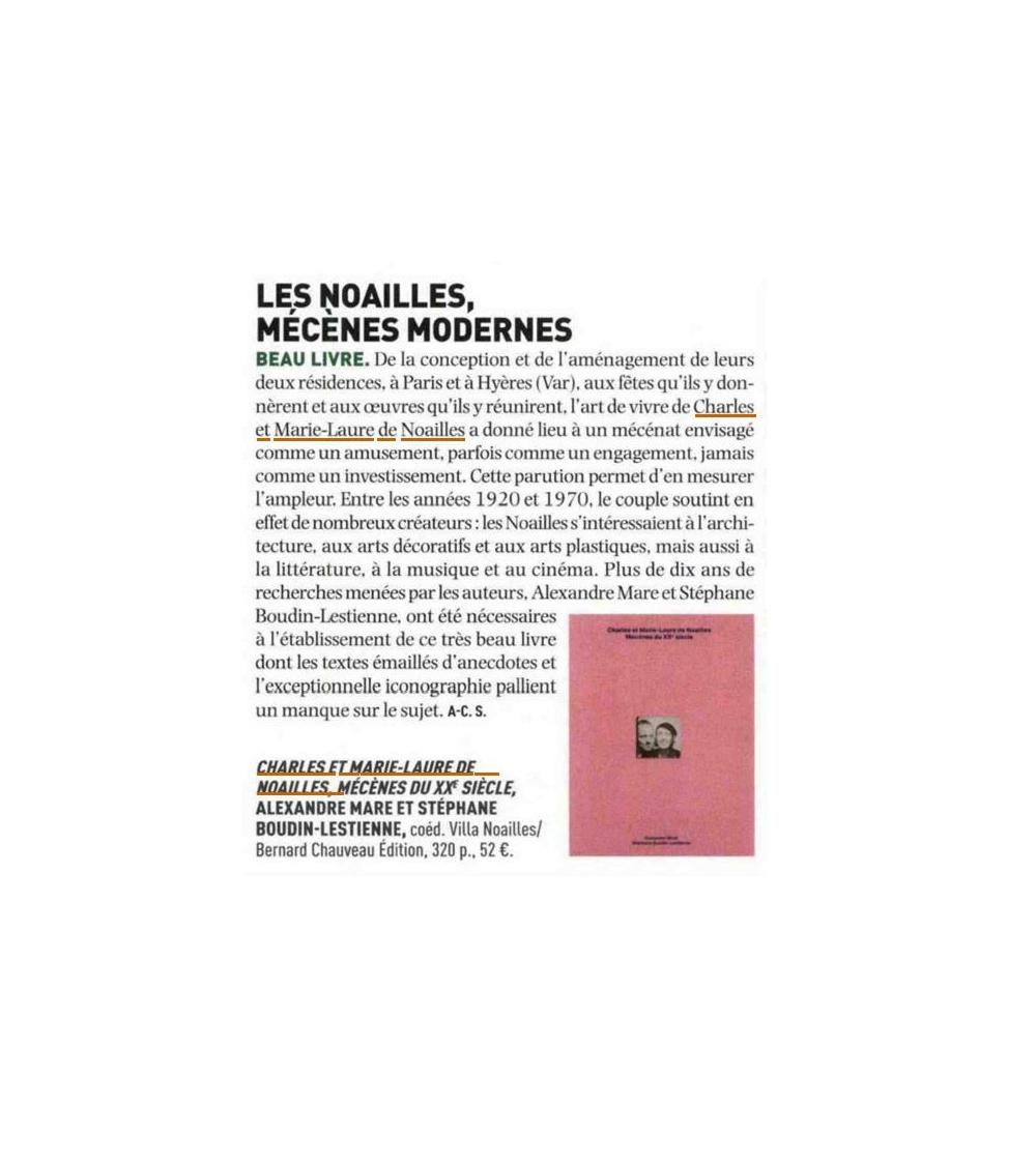 Charles et Marie-Laure de Noailles - Journal des Arts