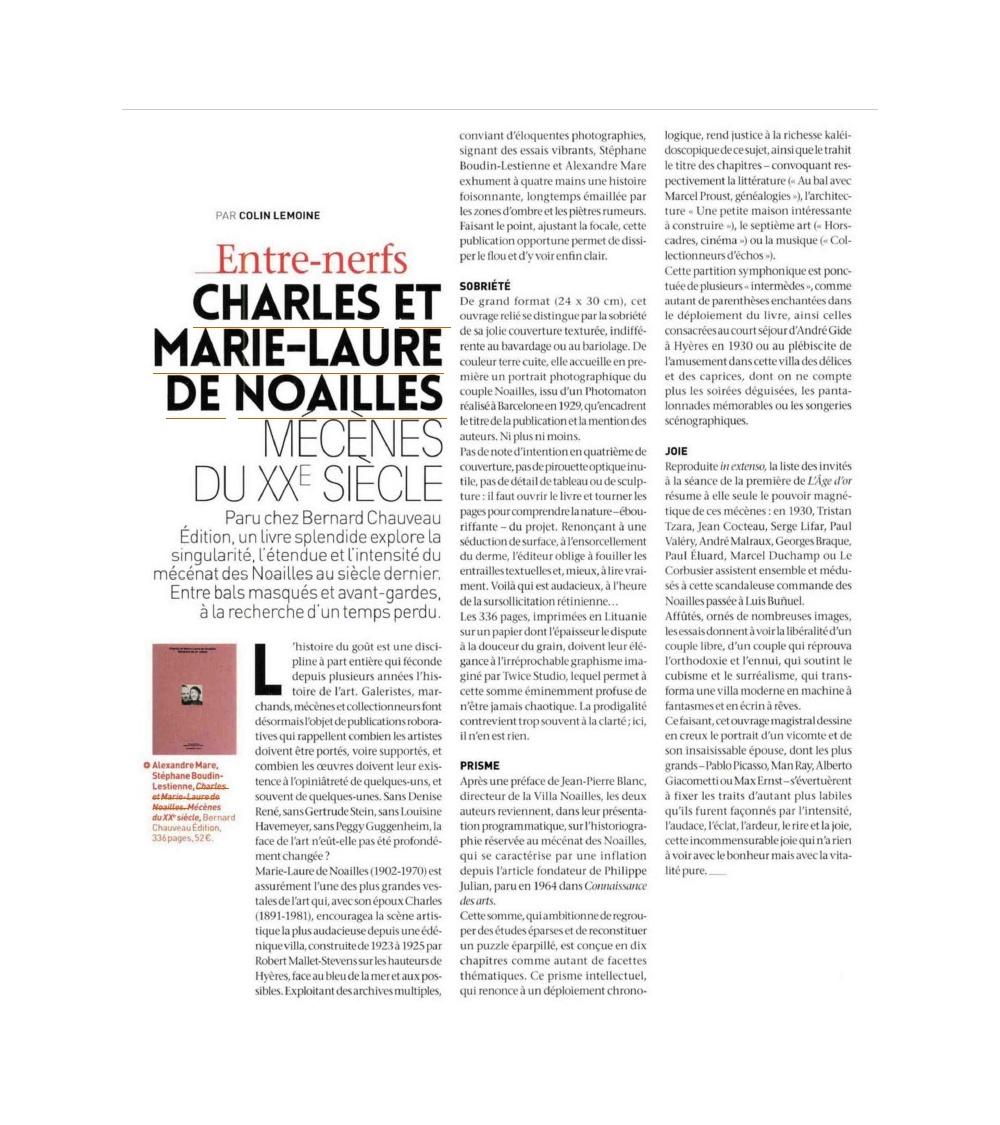Charles et Marie-Laure de Noailles - prix Spécial Drouot
