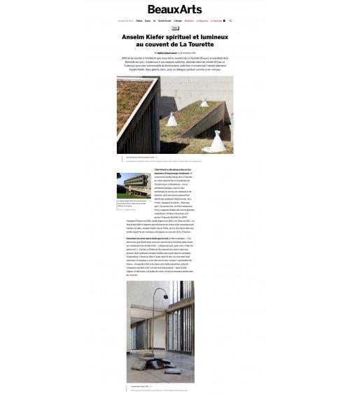 Anselm Kieffer à la Tourette - Beaux-Arts Magazine
