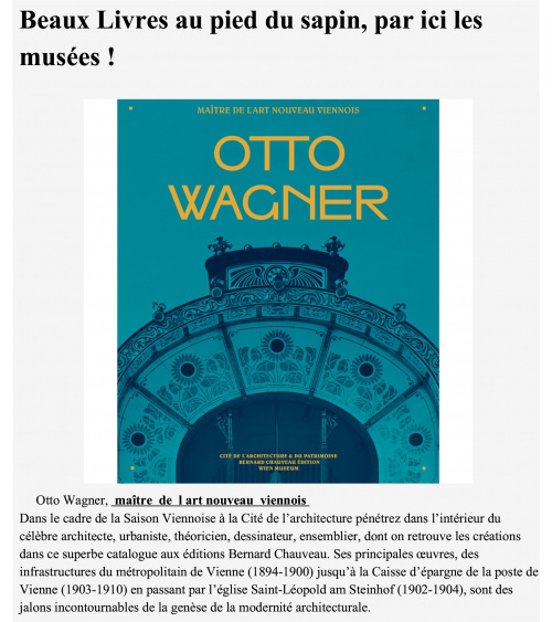 Otto Wagner - Challenges
