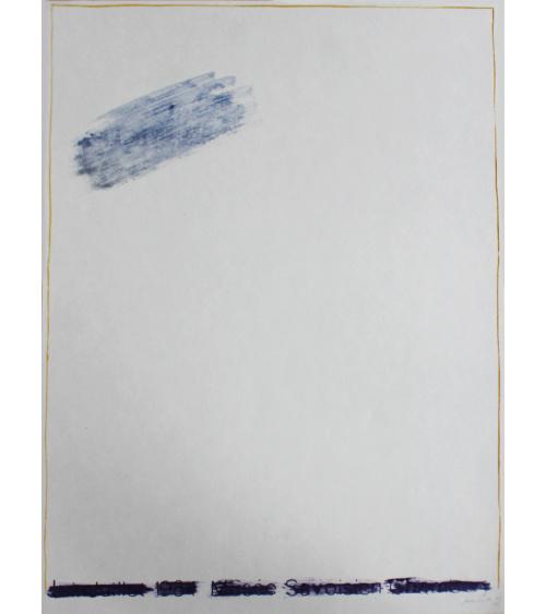 Pierrette Bloch - Silkscreen print
