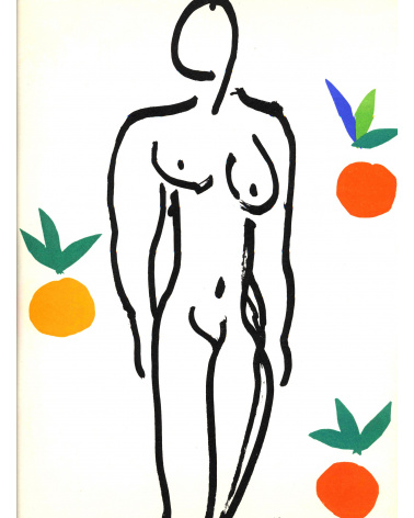 Henri Matisse - Cartes au pochoir Chapelle de Vence et Nus bleus