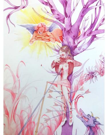 Amélia B. / Drawing 1