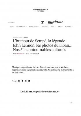 Le Liban n'a pas d'âge - Madame Figaro
