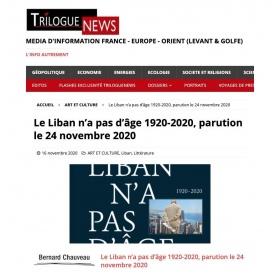 Le Liban n'a pas d'âge - Trilogue News