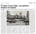Le Liban n'a pas d'âge - L'Orient le jour