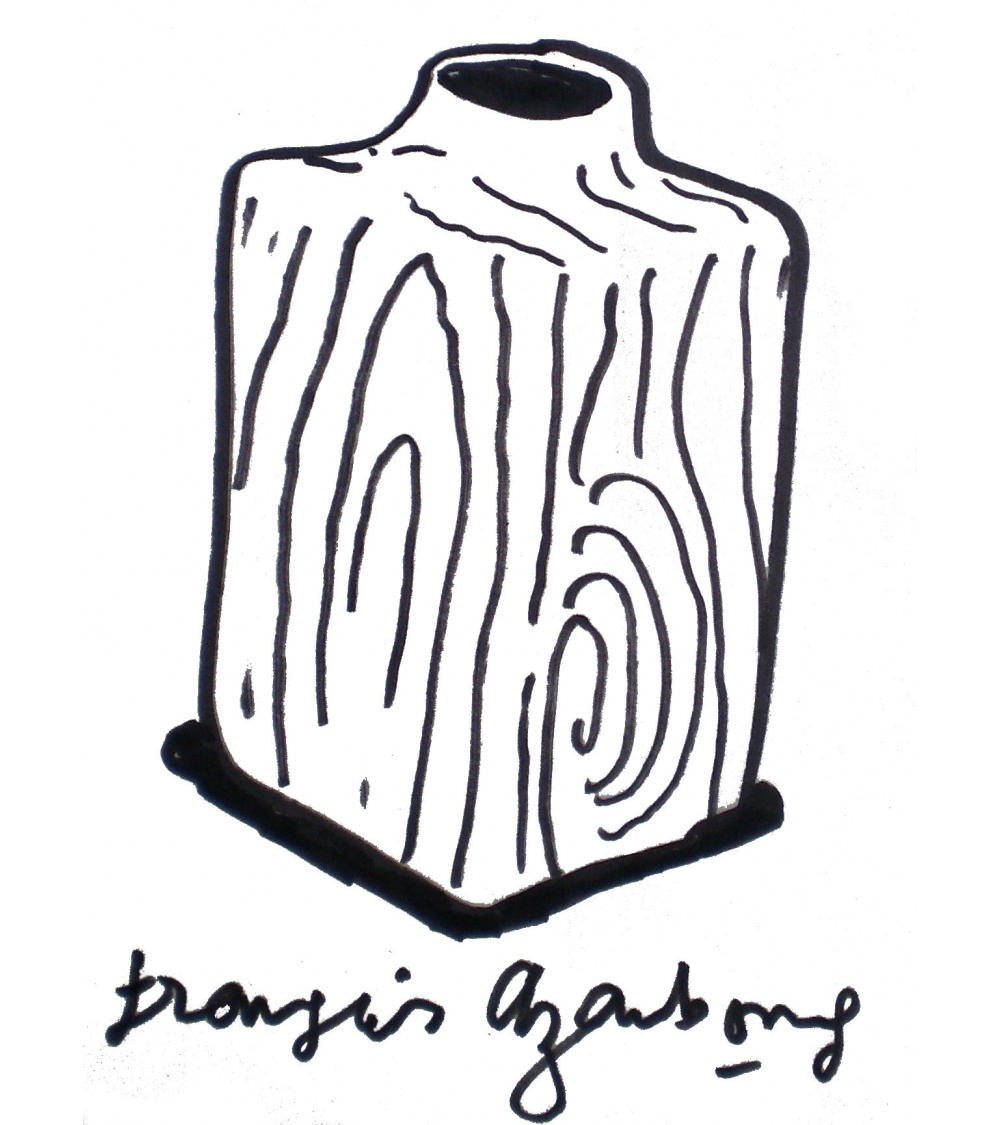 François Azambourg - The Douglas Vase. The Embrace of Wood
