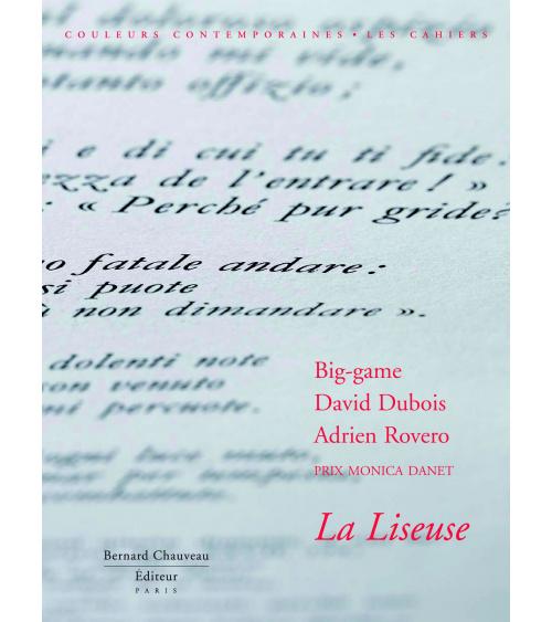 Big Game / David Dubois / Adrien Rovero - La Liseuse