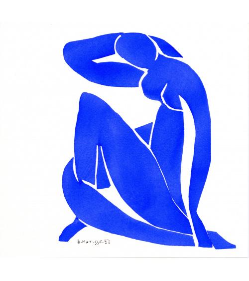 Henri Matisse - Nu bleu II - Grand format