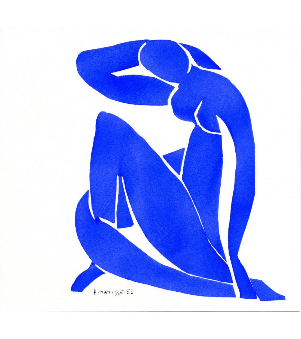 Henri Matisse Nu Blue Poster Matisse Art Print HIGH