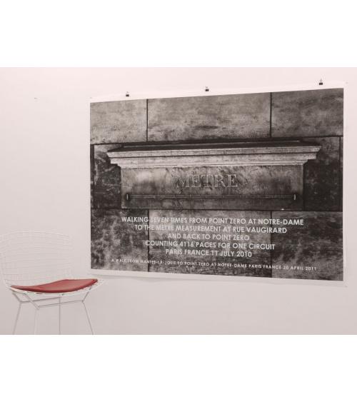 Hamish Fulton - Mètre - Black and white edition