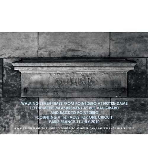 Hamish Fulton - Mètre - Edition noir et blanc
