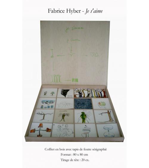 Fabrice Hyber - Je s'aime - édition limitée