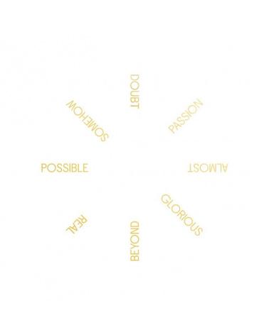 Robert Barry - One Hundred Golden Circles