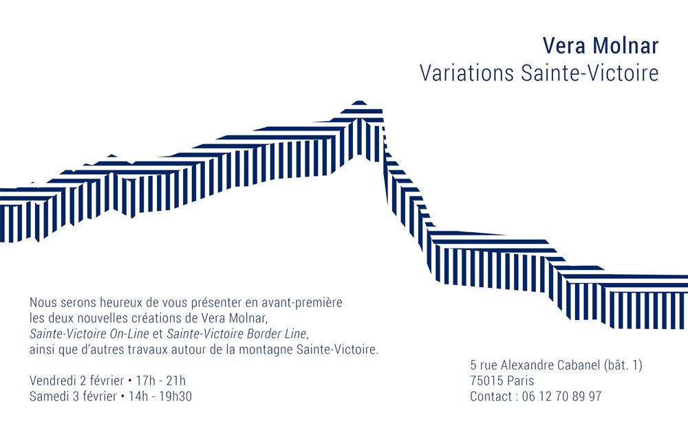 Vear Molnar / Variations Sainte-Victoire